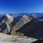 Mt Blanc vu depuis le Pic du Mas de la Grave