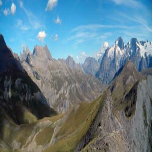 panorama du pic du Mas de la Grave